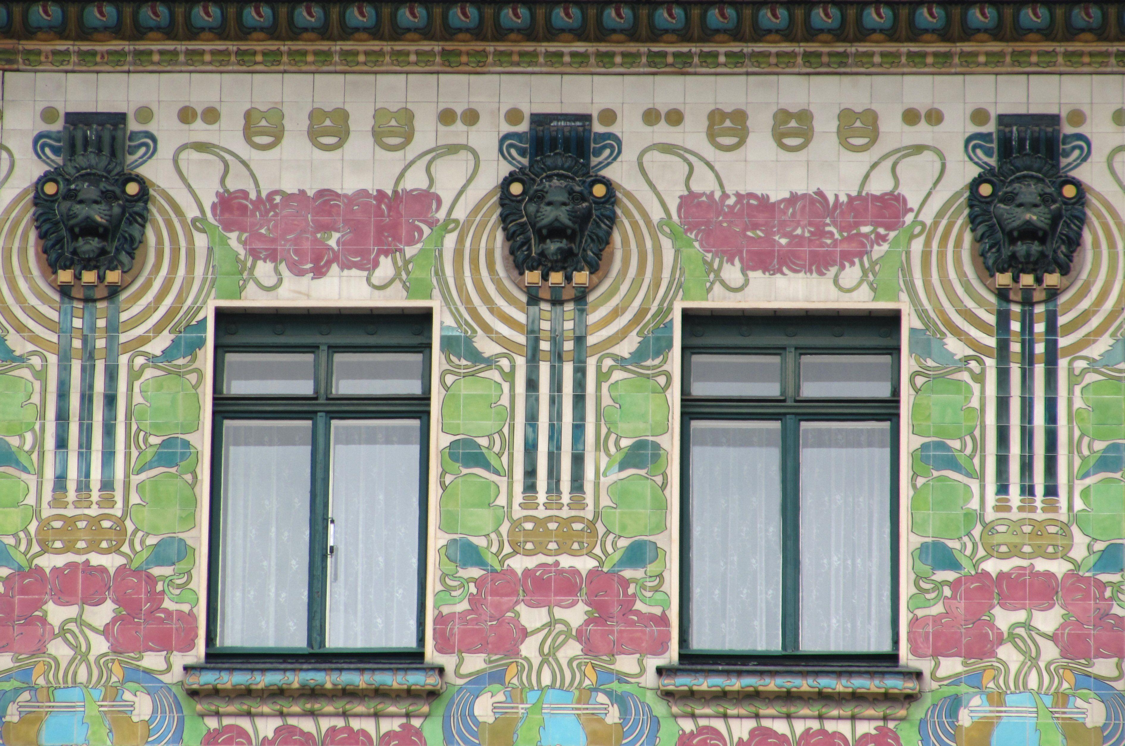 Viennese art nouveau by otto wagner - Art nouveau architecture de barcelone revisitee ...
