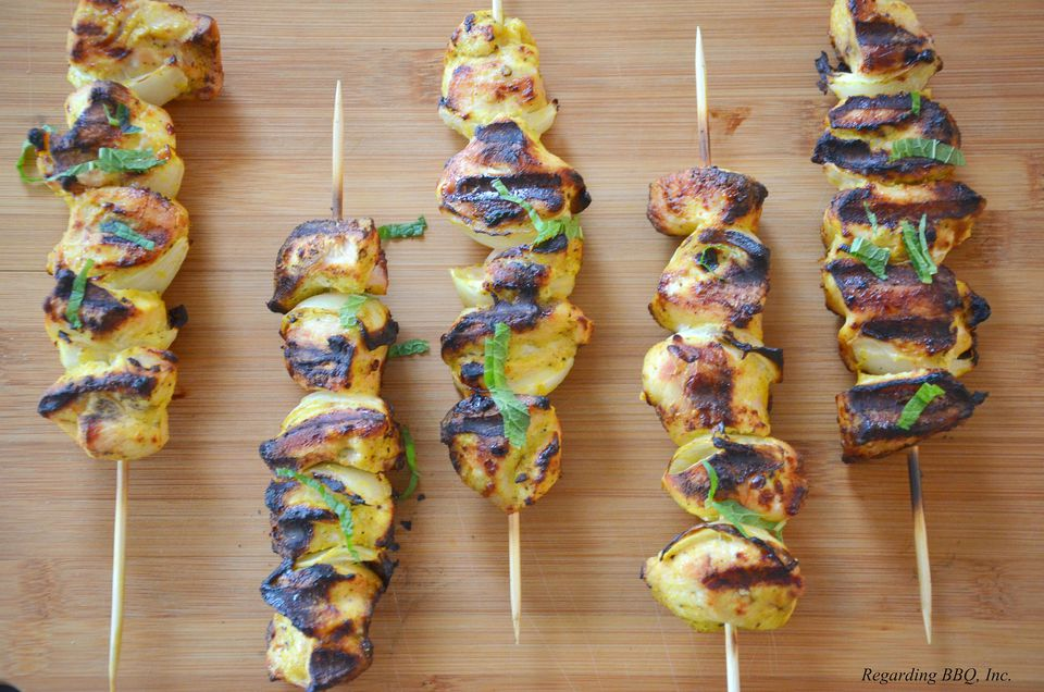 Egyptian Style Chicken Kebabs