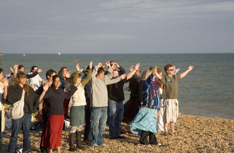 Beach Ritual Solstice