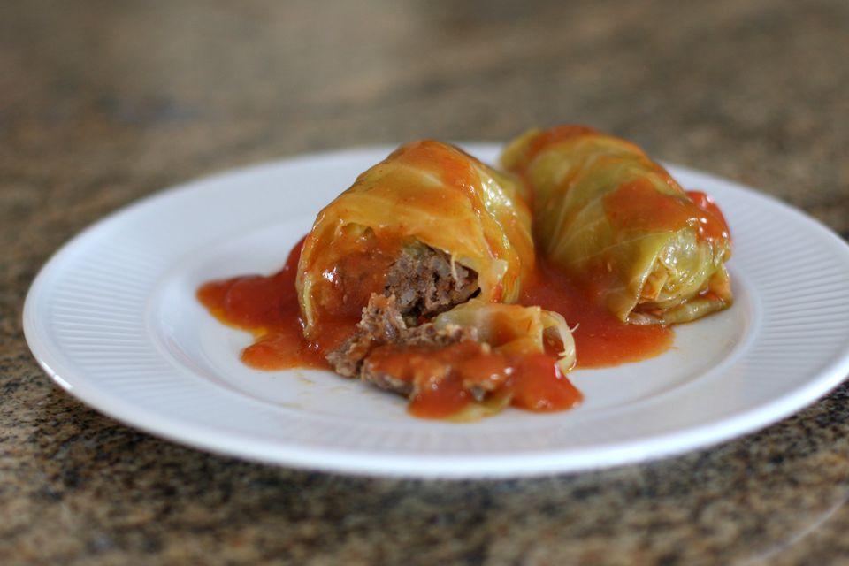 mom's cabbage rolls