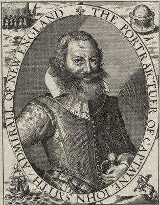 Captain John Smith, Virginia Colony