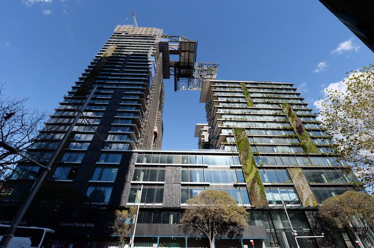 Vertical Gardens at One Central Park in Sydney, Australia