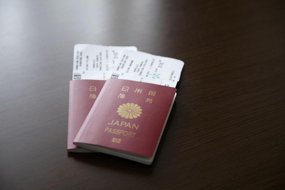 apanese passport