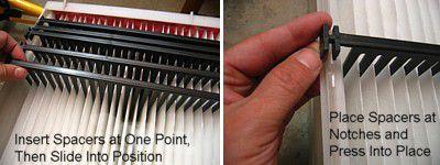 Replacing An Aprilaire Space Gard 2200 Furnace Filter