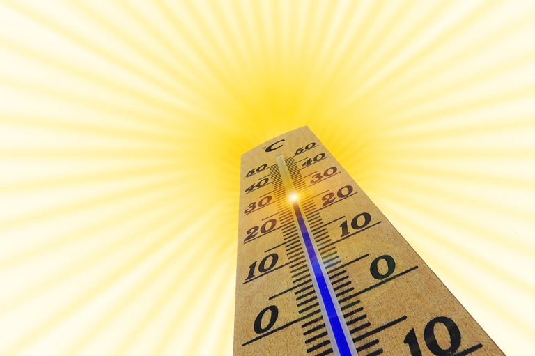 We think of temperature as a measure of hot or cold, but what we're really talking about is thermal energy.