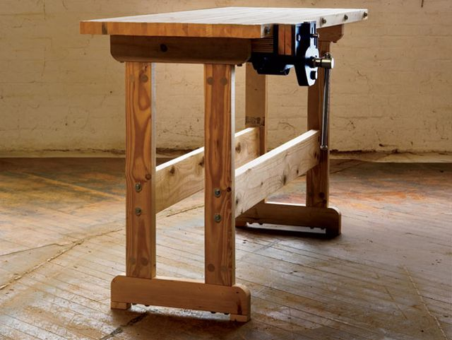Simple DIY Workbench Plan from Popular Mechanics17 Free Workbench Plans and DIY Designs. Free Plans Building Wood Workbench. Home Design Ideas