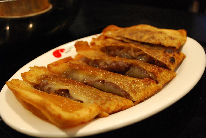 Red Bean Paste Pancakes Recipe - Chinese Crepe