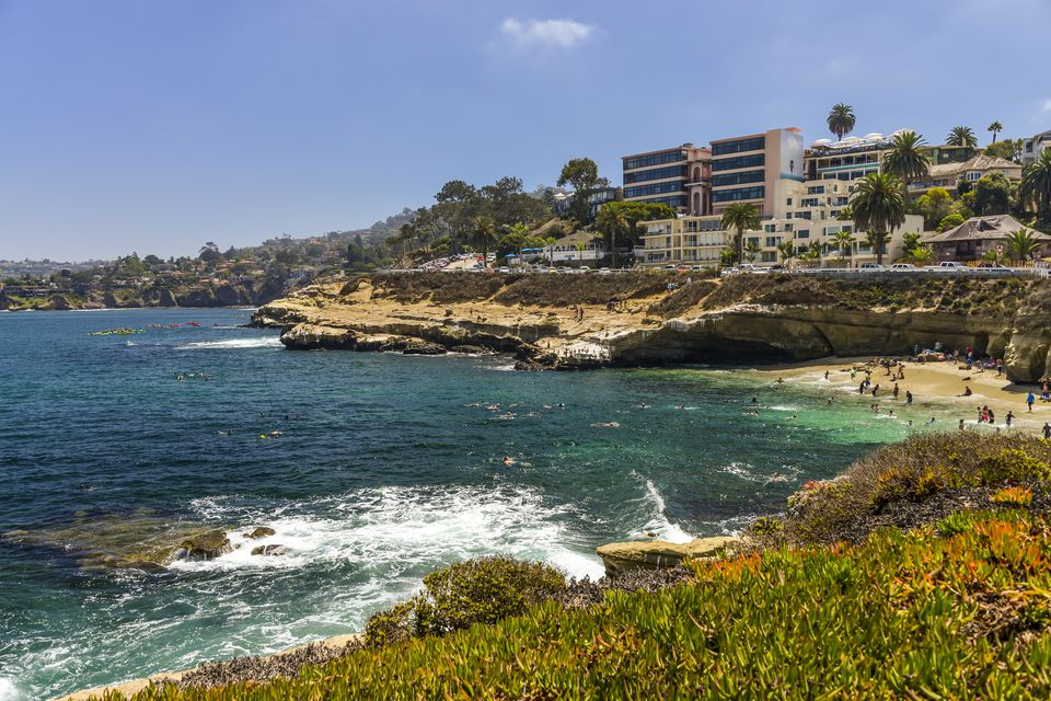 La Jolla: Home to beaches, shopping, fine cuisine...and munchkin homes