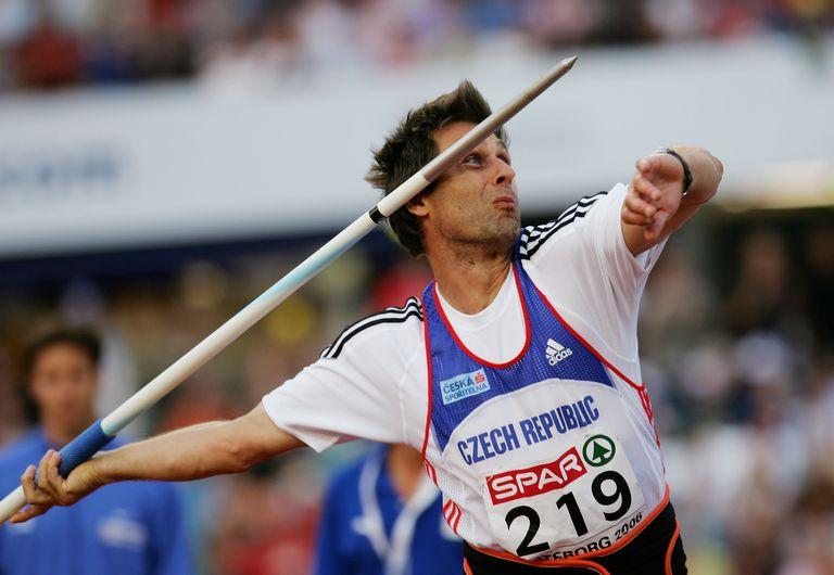 Jan Zelezny set three javelin throw world records in the 1990s.