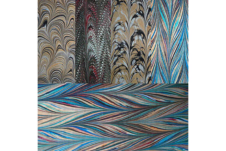 How to Marble Fabrics