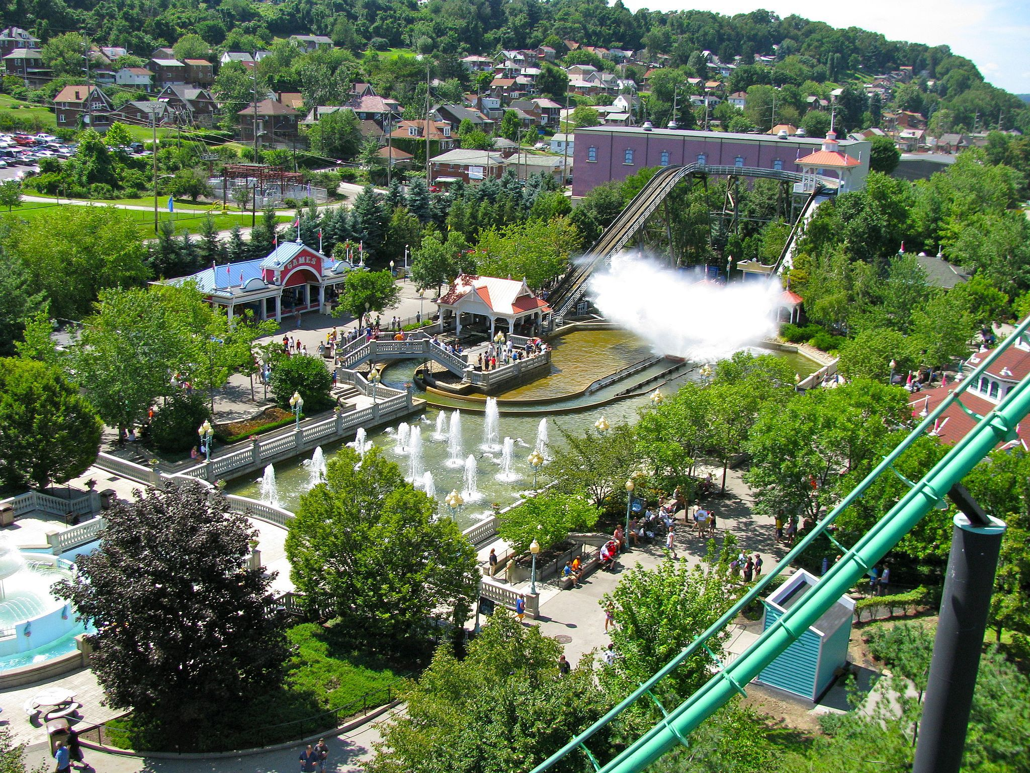 Kennywood Amusement Park Hours and Tickets