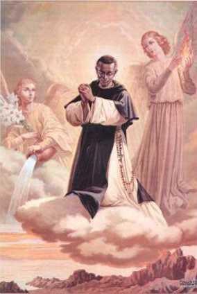San Martín y los arcángeles