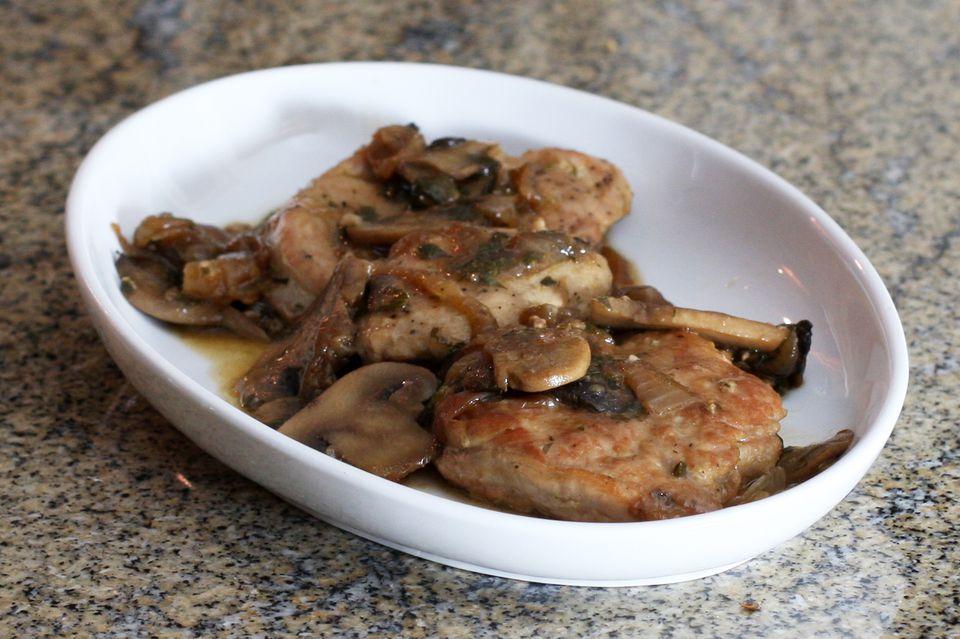 pork tenderloin with caramelized onions