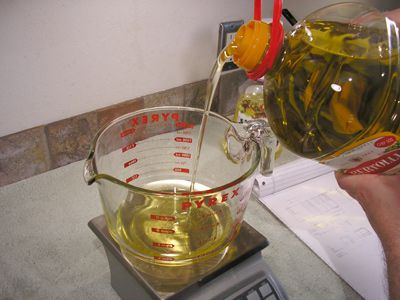 Weigh the Oils You are Using in the Soap