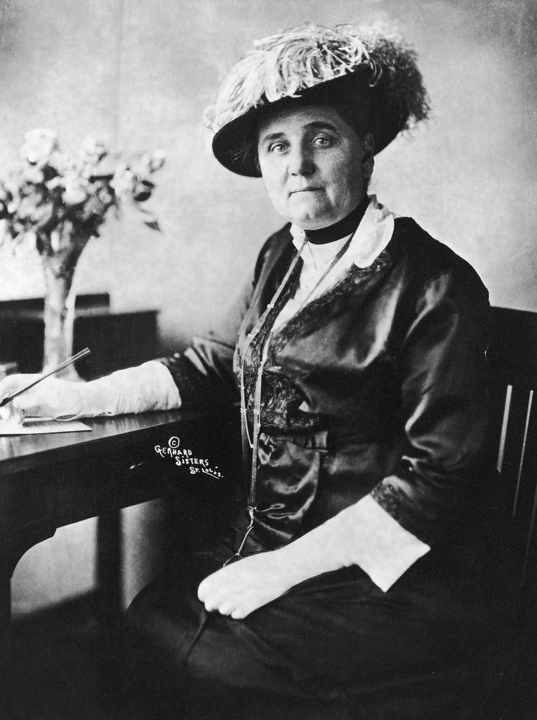 A picture of social reformer Jane Addams, founder of Hull House.
