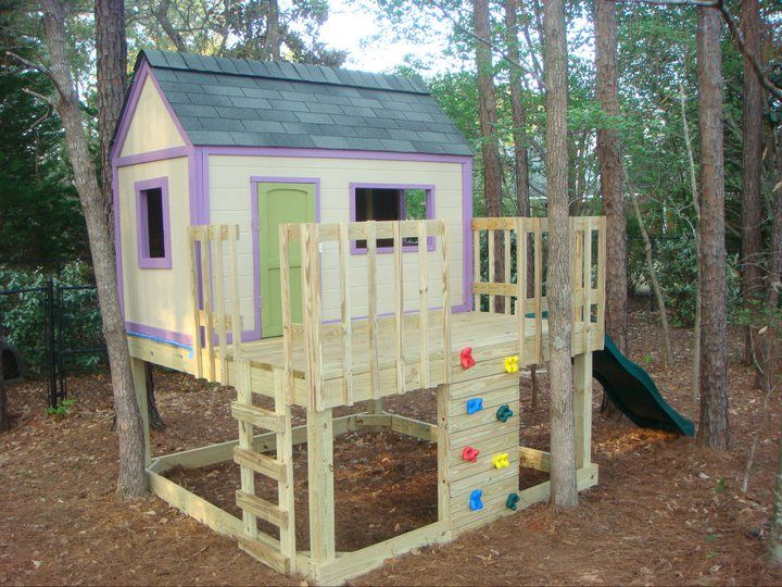 12 free playhouse plans the kids will love - Plans For Outdoor Playhouses