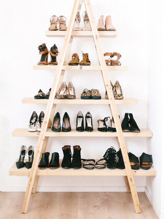 a pair a spare - Shoe Organizer Ideas