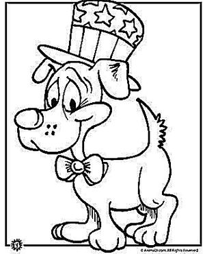 4Th Of July Color Pages Free 4Th Of July Coloring Pages
