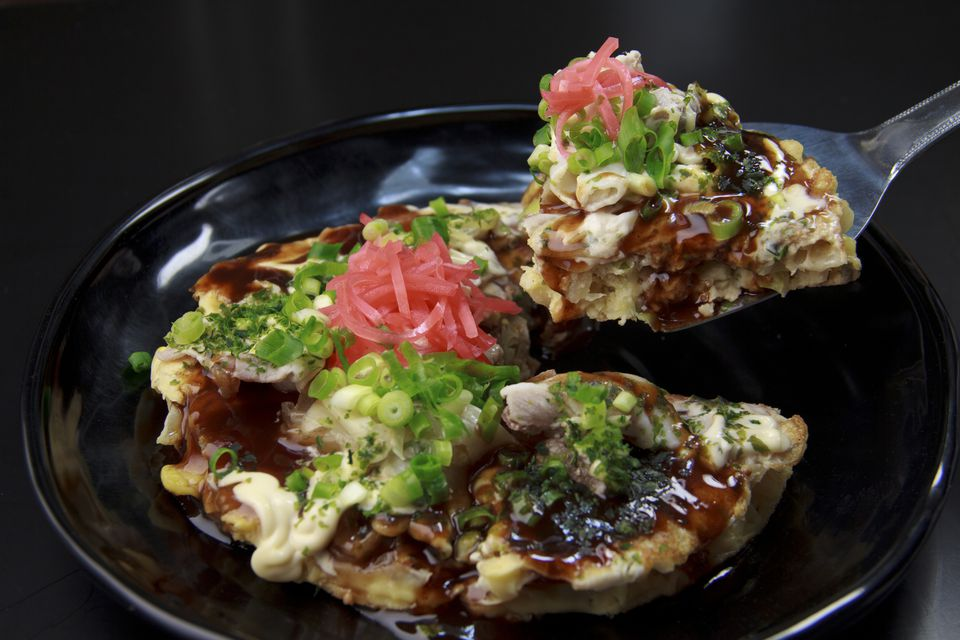Hiroshima Style Okonomiyaki (Savory Pancake)