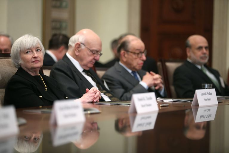 Past Federal Reserve Chairs