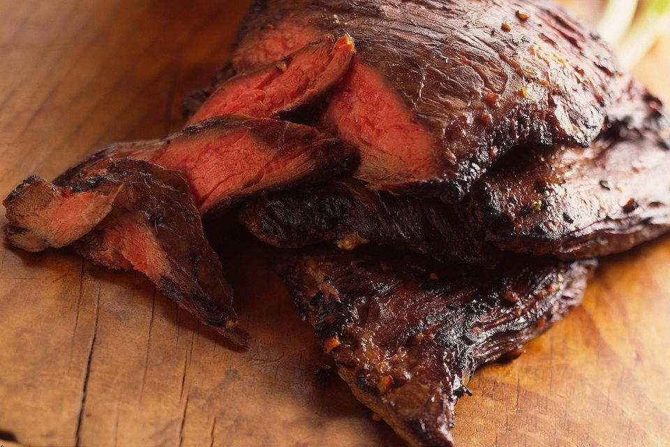 Marinaded flank steak