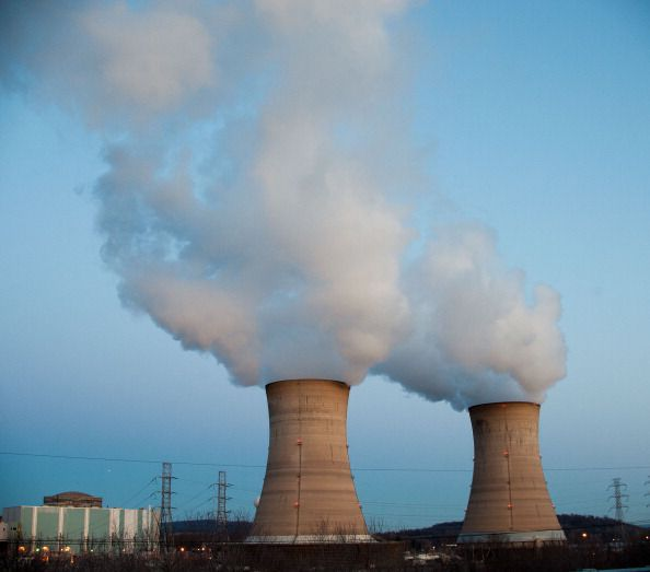The Three Mile Island Nuclear Plant in Middletown, Pennsylvania.