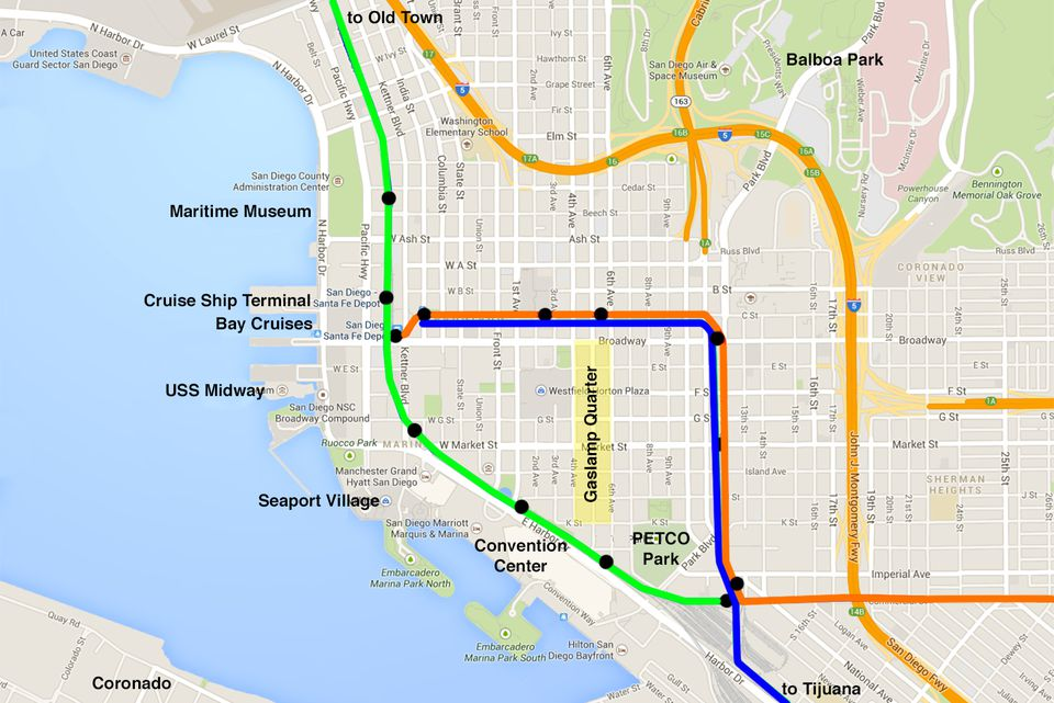 Riding The San Diego Trolley Step By Step Guide