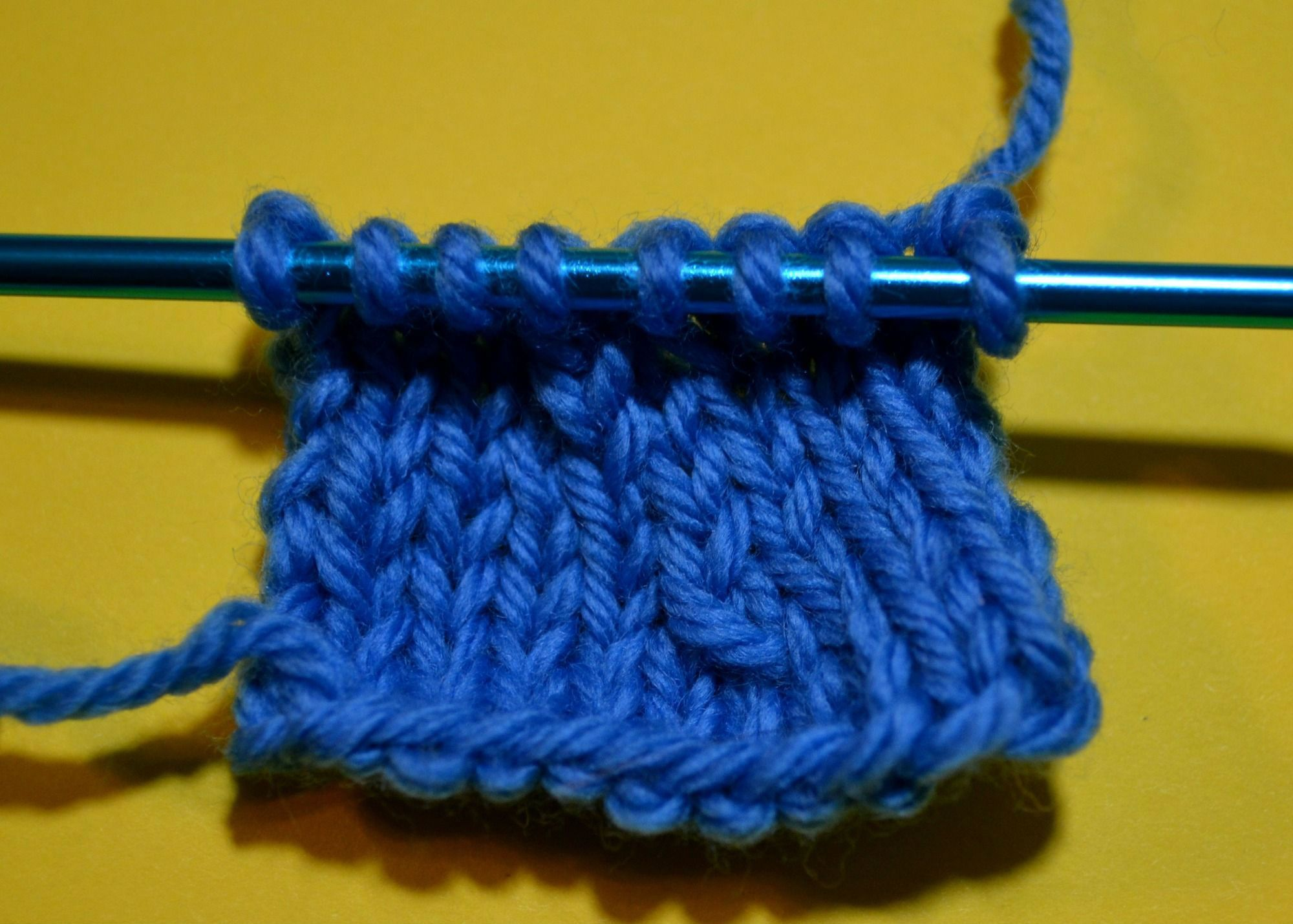 Knitting Yfwd Psso : Pass slipped stitch over psso