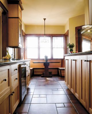 Classic One-Aisle Galley Kitchen