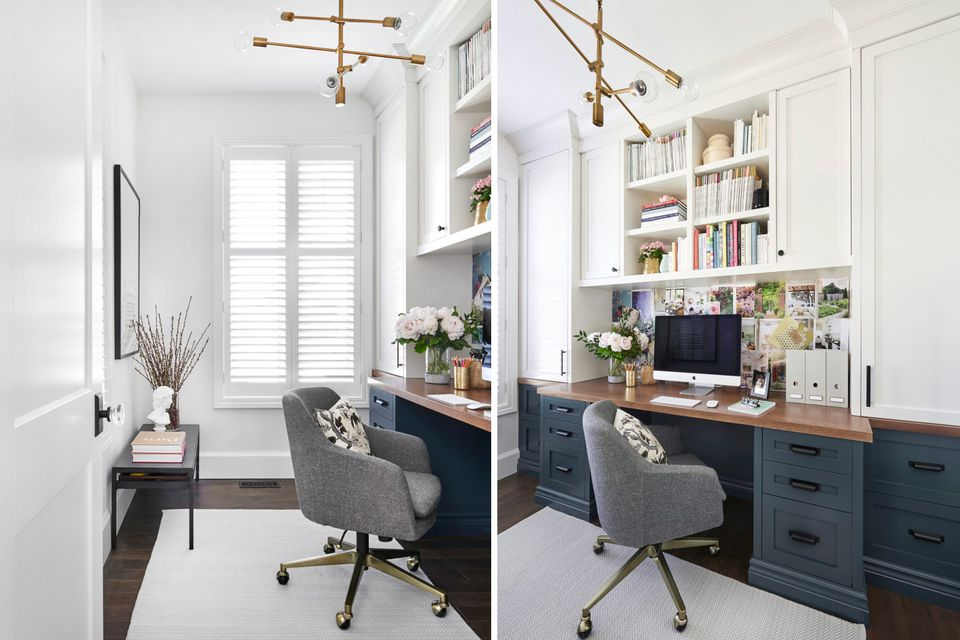 27 surprisingly stylish small home office ideas - Creating a small home office ...