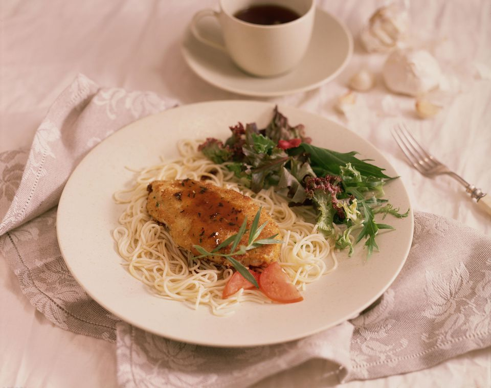 Grilled Chicken Marsala