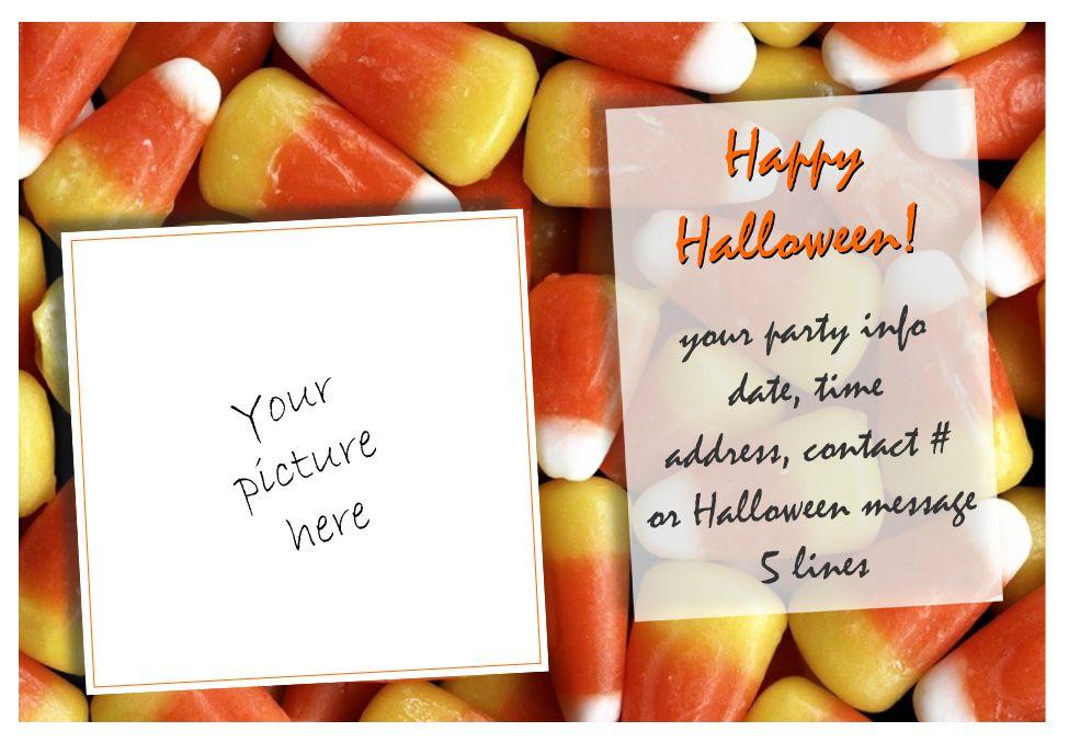halloween party invitations free