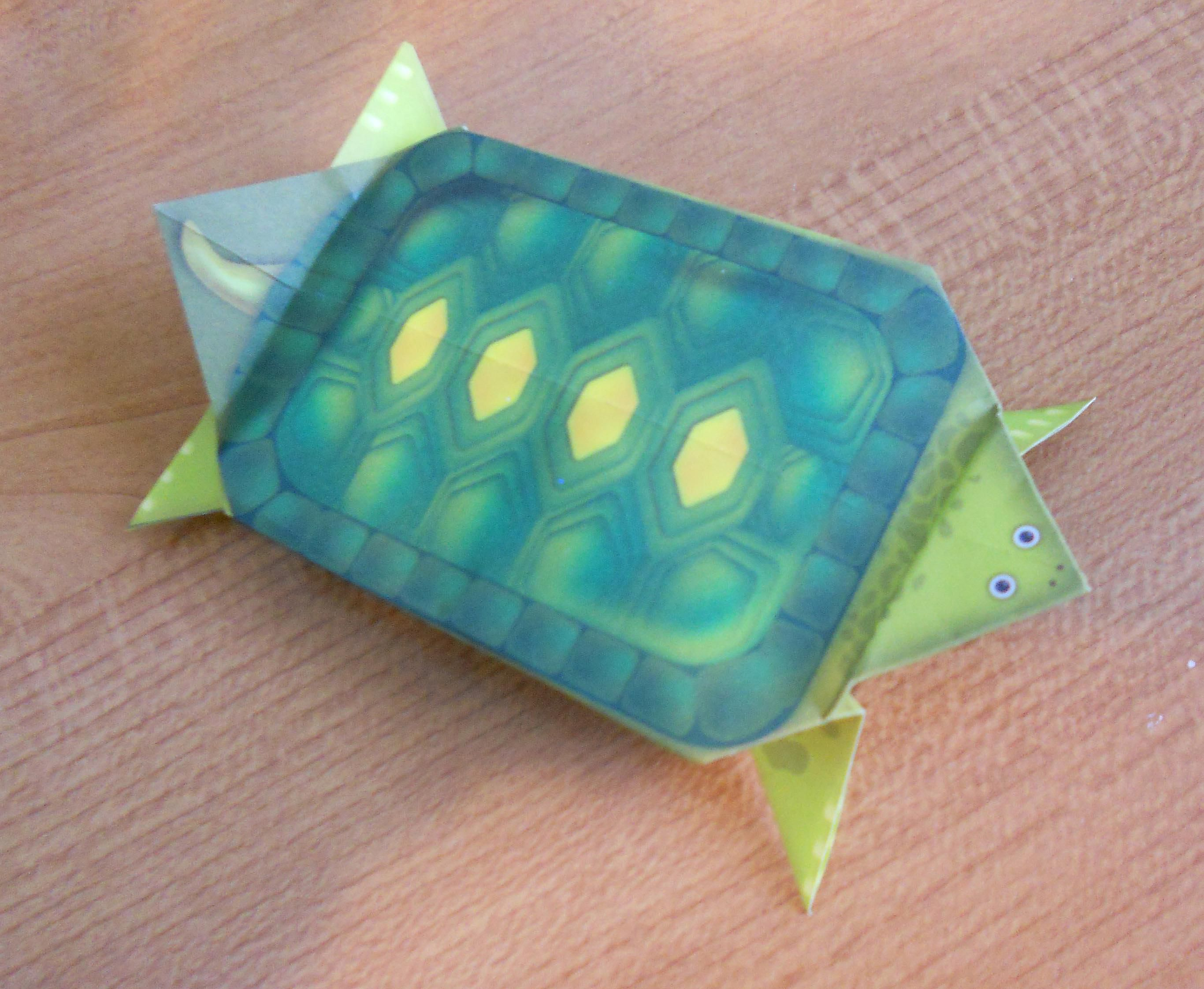 making it easy for kids to learn origami