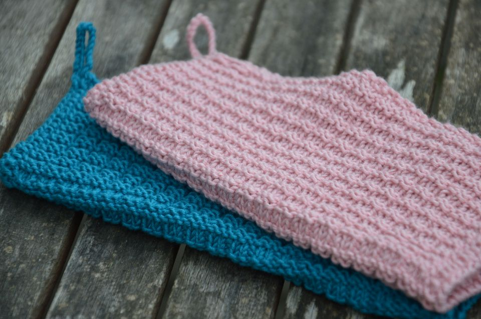 20 Free Knit Dishcloth Patterns