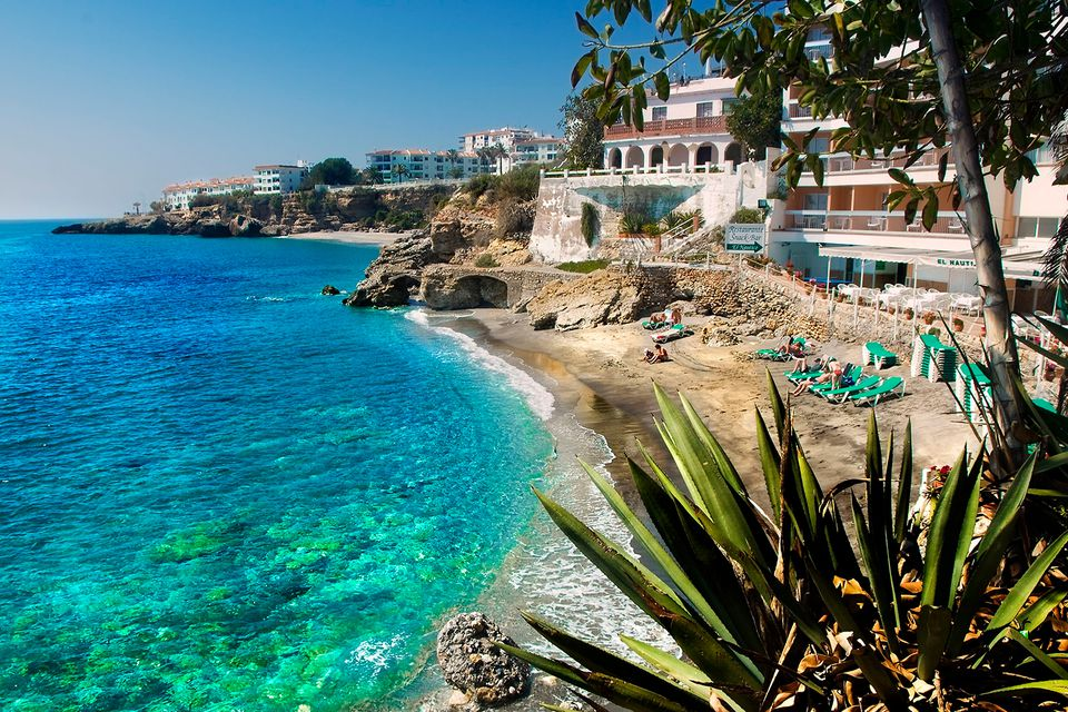 Best beaches in spain nerja spain beach publicscrutiny Image collections