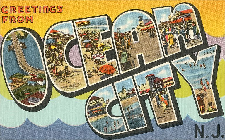 Greetings from Ocean City, New Jersey