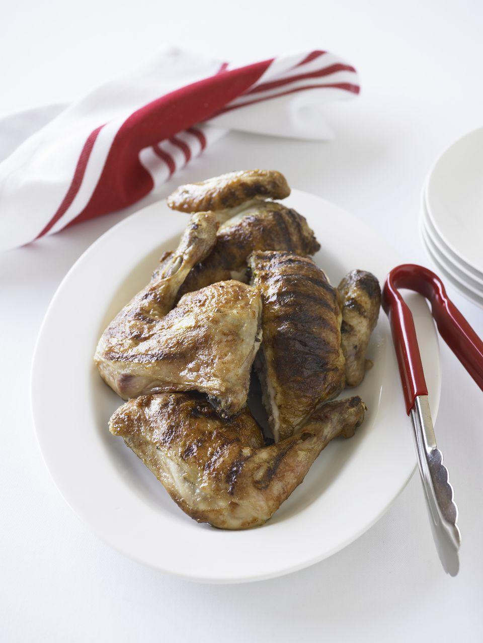 Roast chicken legs