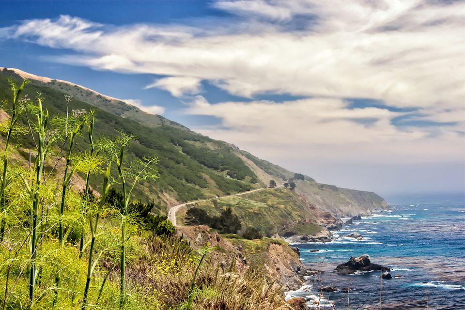 Highway One in Big Sur
