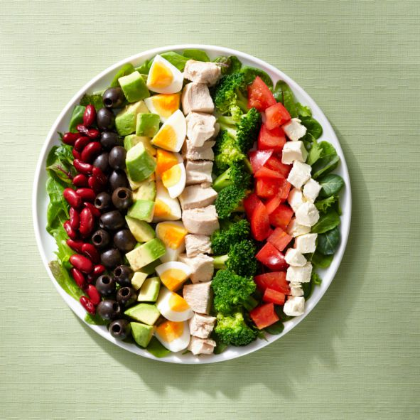 Plate your food wisely to comply to a diabetes-friendly diet.