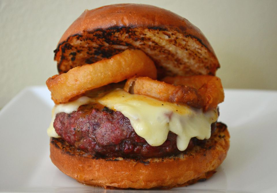 Fifty Dollar Rib-eye Burger