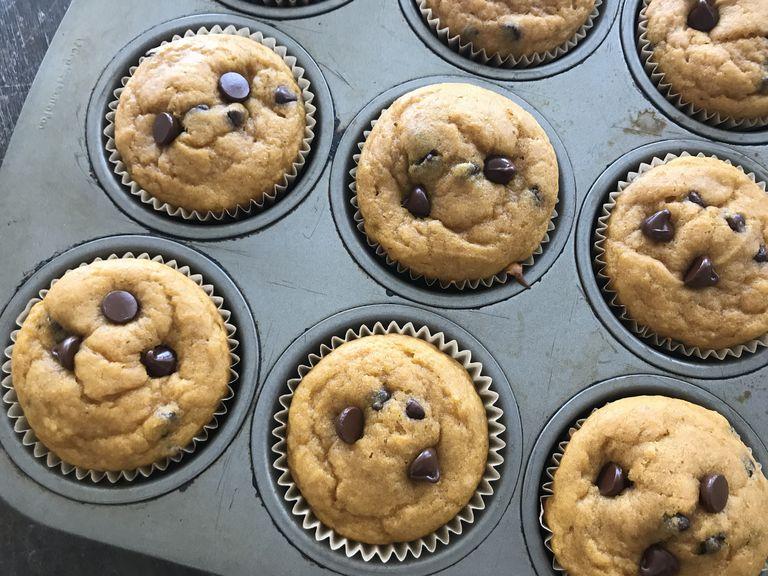 GF Pumpkin Chip Muffins