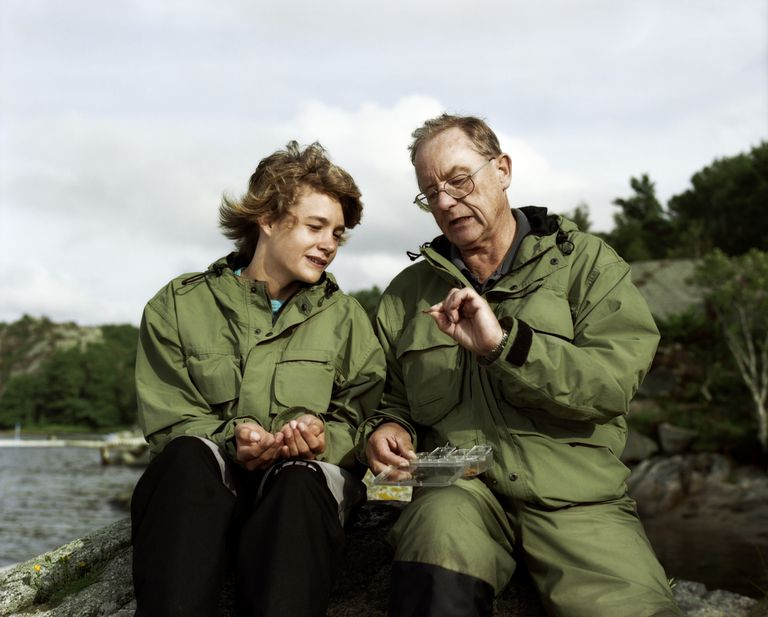 A Minnesotan grandparent and grandchild