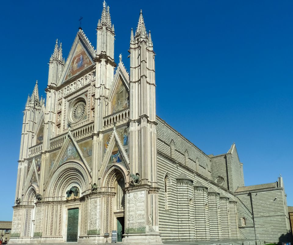 orvieto cathedral photo