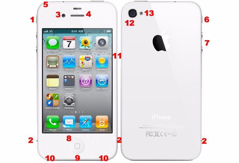 iphone 4S hardware