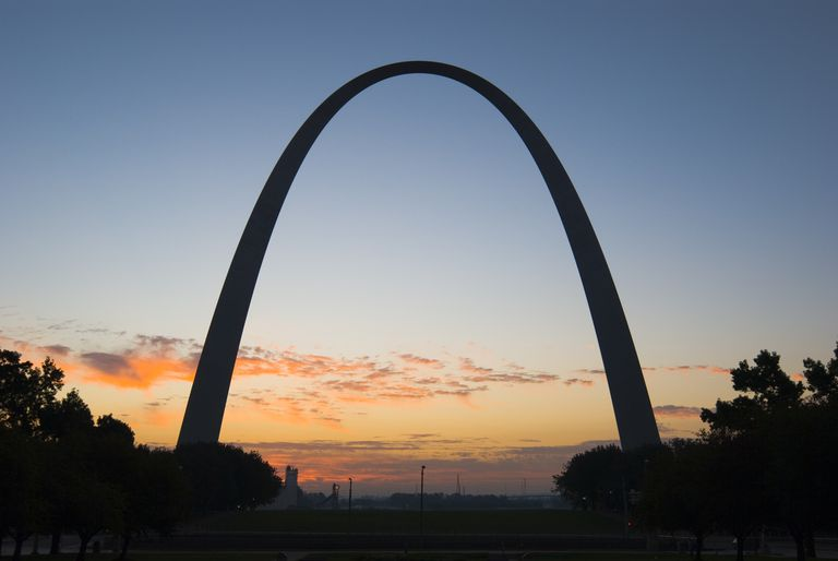 The St. Louis Arch is a good example of a parabola in real life.