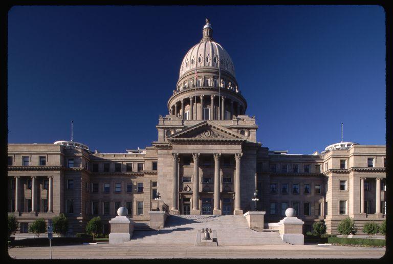 Idaho State Capitol Facade