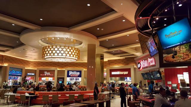 Caesars Food Court Las Vegas