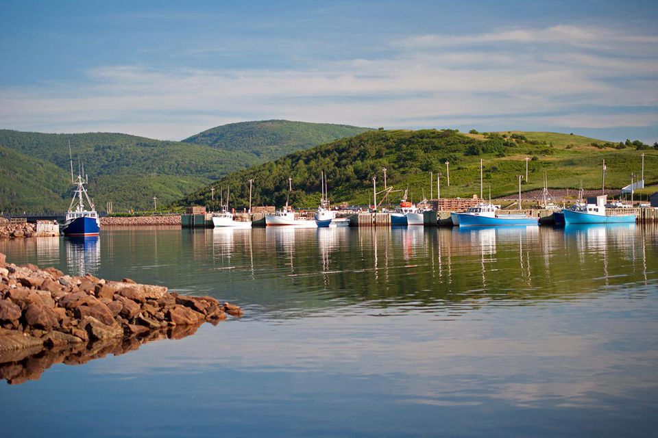 Fishing Boats of Cape Breton
