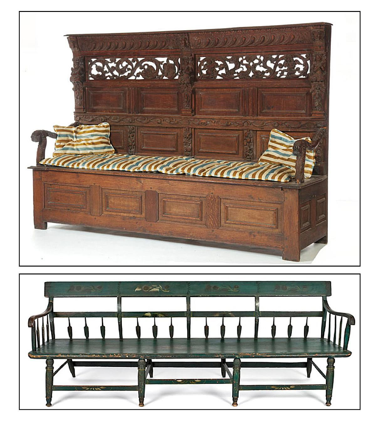 Turn of the century furniture - What S The Difference In A Settle And A Settee