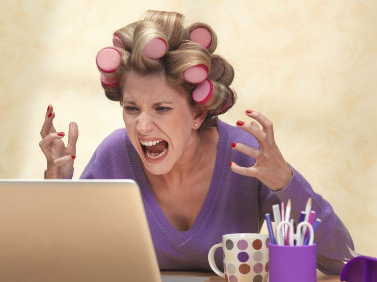 Online frustration